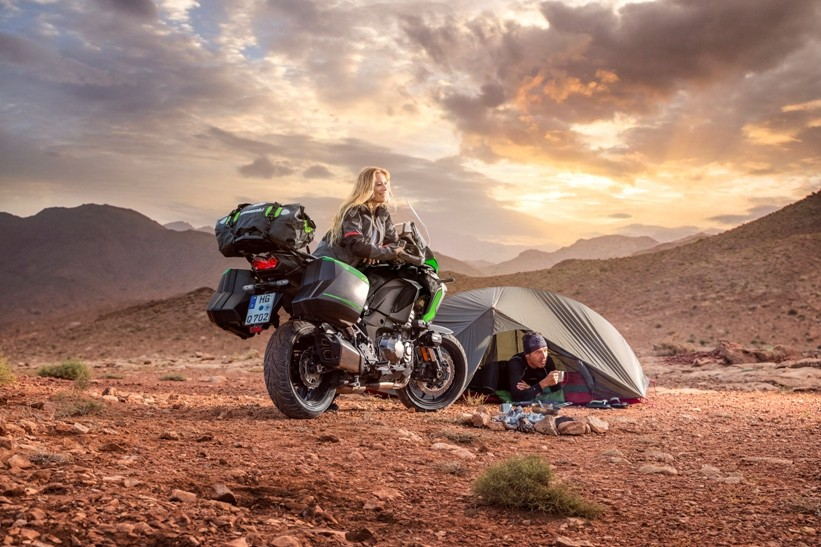 21MY Versys 1000 SE Camping Site